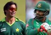 Shoaib Akhtar and Tamim Iqbal