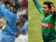 Sourav Ganguly and Soumya Sarkar