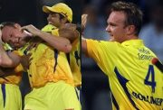 Suresh Raina and Doug Bollinger