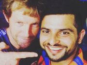 Suresh Raina and Jonty Rhodes