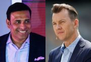 VVS Laxman and Brett Lee