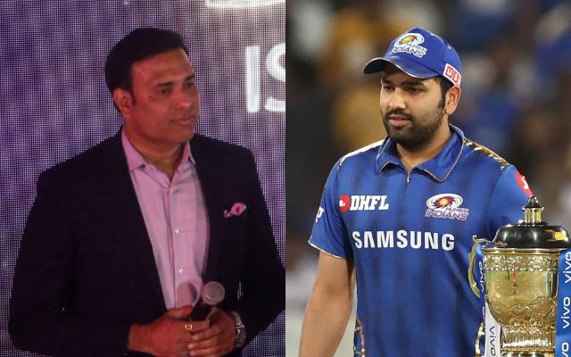 VVS Laxman and Rohit Sharma