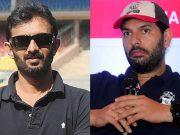 Vikram Rathour and Yuvraj Singh