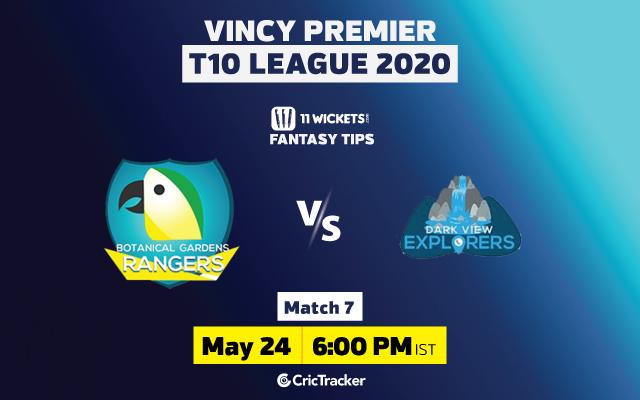 VincyT10-11Wickets-Botanic Garden Rangers vs Dark View Explorers-Rangers-Match-7