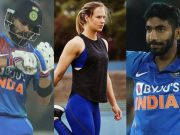 Virat Kohli, Ellyse Perry and Jasprit Bumrah