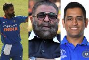 Virat Kohli, Yograj Singh and MS Dhoni