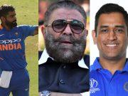Virat Kohli, Yograj Singh and MS Dhoni