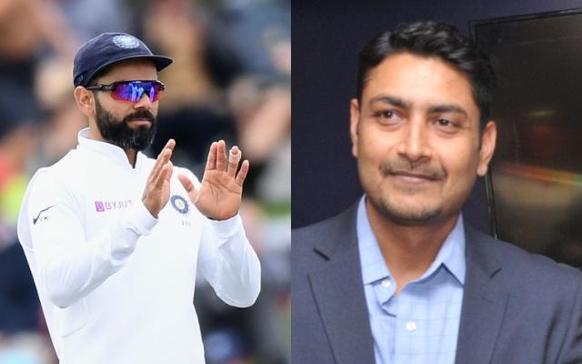 Virat Kohli and Deep Dasgupta