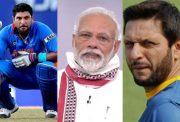 Yuvraj Singh, Narendra Modi and Shahid Afridi