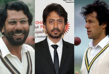Zaheer Abbas, Irrfan Khan and Imran Khan