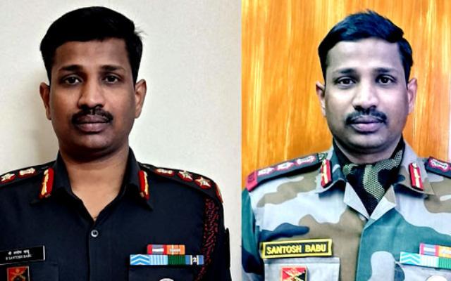 Colonel B Santosh Babu
