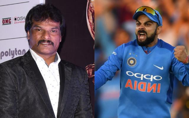 Dhanraj Pillay and Virat Kohli
