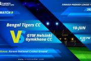 FinnishT20-Match9-bengal-tigers-cc-vs-gym-helsinki-gymkhana