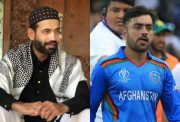 Irfan Pathan and Rashid Khan