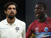 Ishant Sharma and Darren Sammy