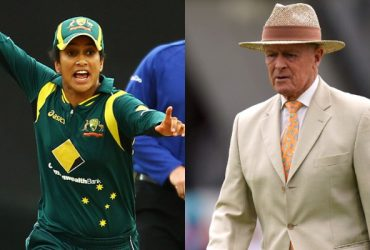 Lisa Sthalekar and Geoffrey Boycott