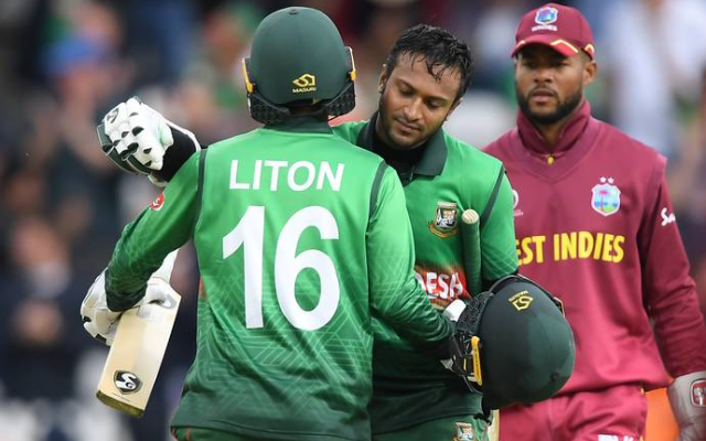 Liton Das and Shakib Al Hasan