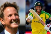 Mark Nicholas and David Warner