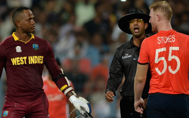 Marlon Samuels launches embarrassing attack on Ben Stokes for his quarantine remarks - CricTracker