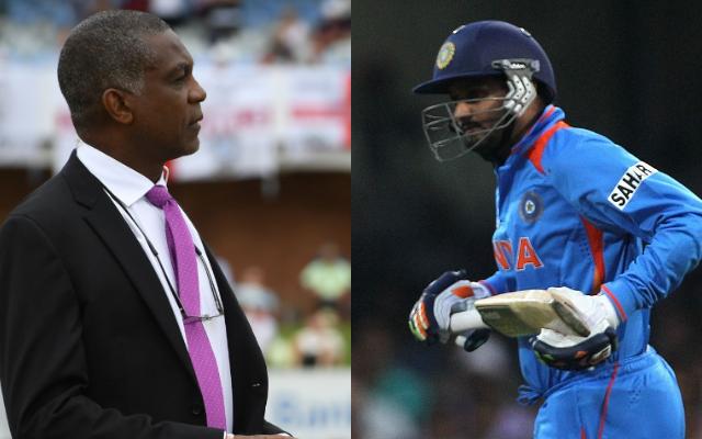 Michael Holding and Harbhajan Singh