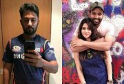 Nafees Iqbal, Rohit Sharma and Ritika Sajdeh