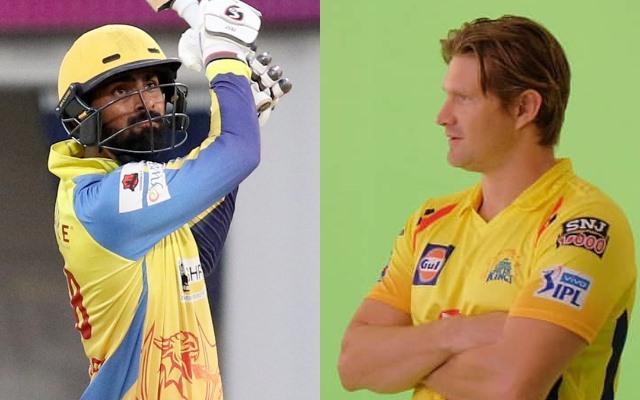 Narayan Jagadeesan and Shane Watson