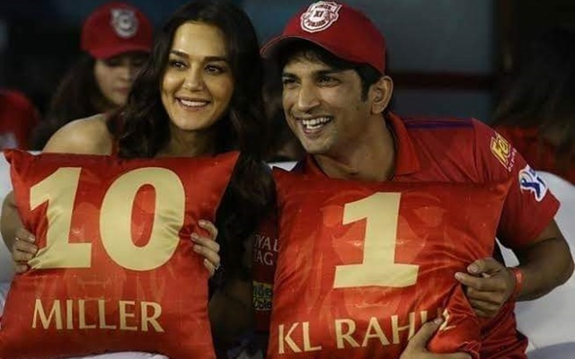 Preity Zinta and Sushant Singh Rajput