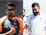 Ravi Ashwin and Virat Kohli