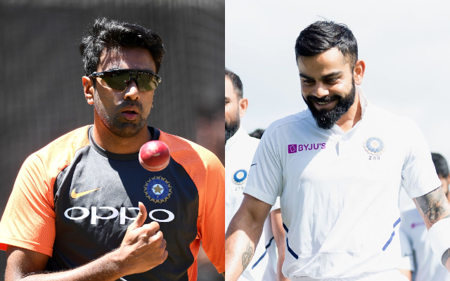 'I sent him a text' – Virat Kohli reveals the message he sent to Ravi Ashwin after Melbourne Test victory - CricTracker
