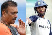 Ravi Shastri and Yuvraj Singh