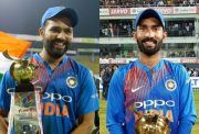Rohit Sharma and Dinesh Karthik