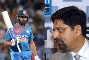 Rohit Sharma and Kris Srikkanth
