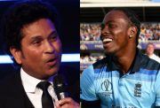 Sachin Tendulkar and Jofra Archer
