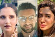 Sania Mirza, Shoaib Malik and Mahira Khan