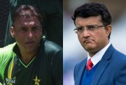 Shoaib Akhtar and Sourav Ganguly