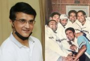 Sourav Ganguly and Indian players