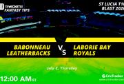 StLuciaT10-2nd-July-Babonneau-Leatherbacks-vs-Laborie-Bay-Royals-12AM