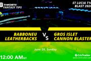StLuciaT10FI--Babboneu-Leatherbacks-vs-Gros-Islet-Cannon-Blasters
