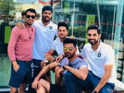 Team India cricketers