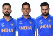 Virat Kohli, MS Dhoni and Rohit Sharma