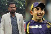 Yusuf Pathan and Gautam Gambhir