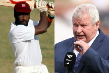 viv richards and Ian Smith