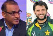 Aamer Sohail and Shahid Afridi