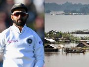 Ajinkya Rahane and Assam floods
