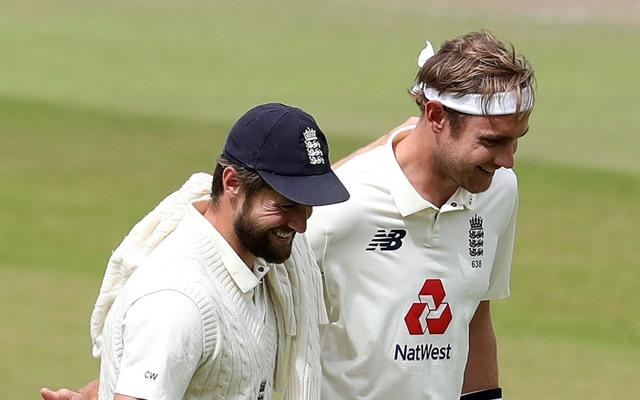 Chris Woakes and Stuart Broad