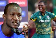 Darren Sammy and Lungi Ngidi