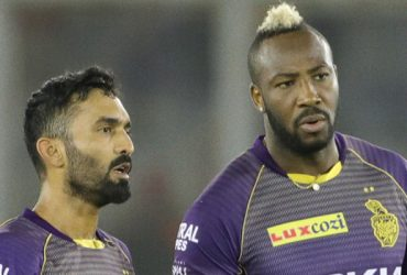 Dinesh Karthik and Andre Russell