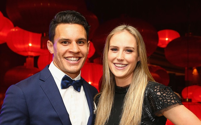 Ellyse Perry and Matt Toomua
