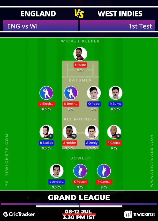 England-vs-West-Indies,-2020-1st-Test---11Wickets2-Fantasy-GL