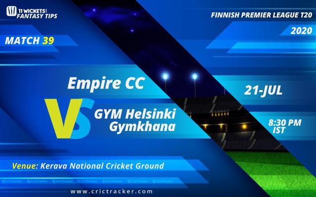 Finnish-Premier-League-T20-Match-39,-Empire-CC-v-GYM-Helsinki-Gymkhana